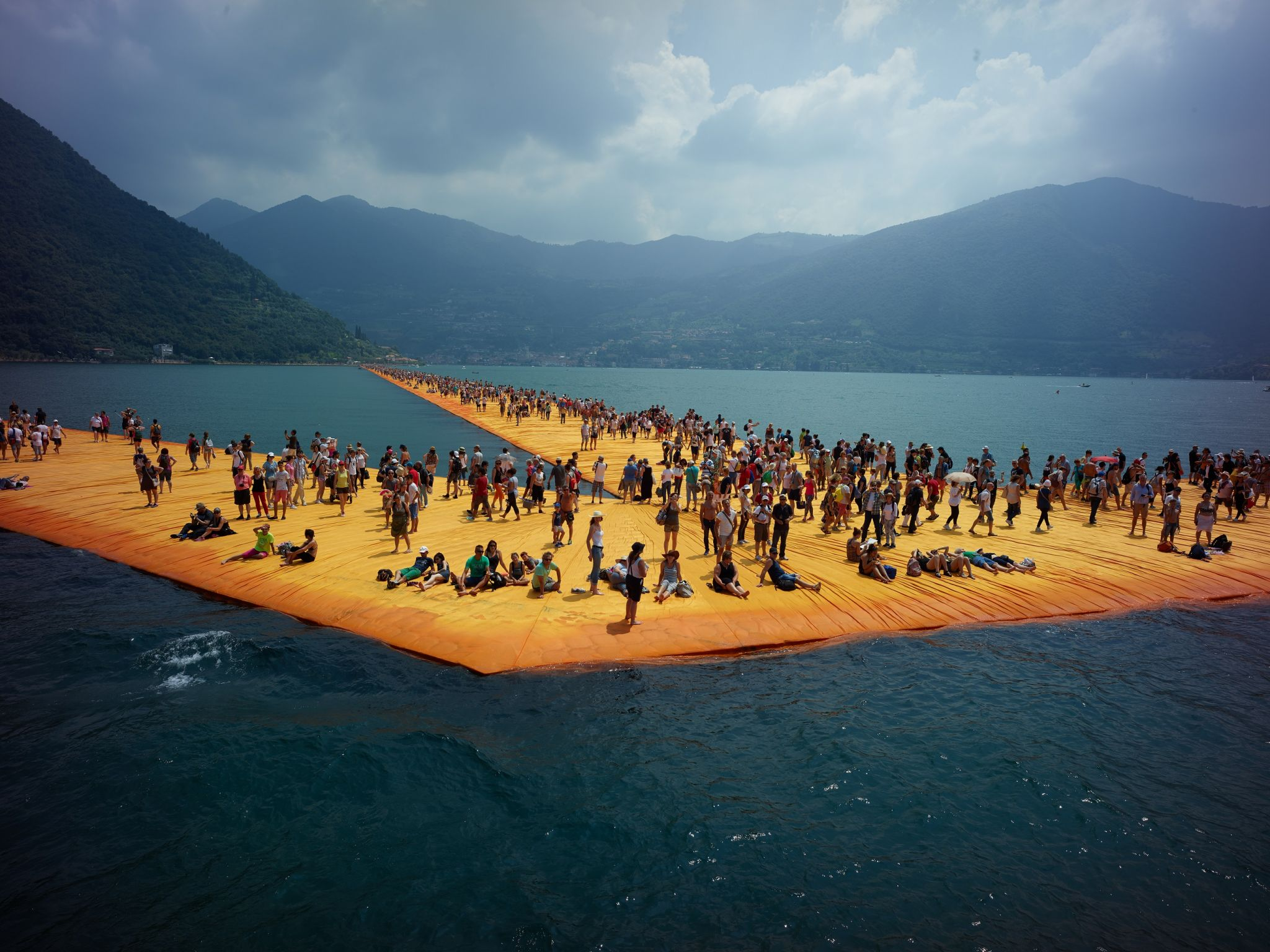 Film in het CBK: Christo: Walking on water